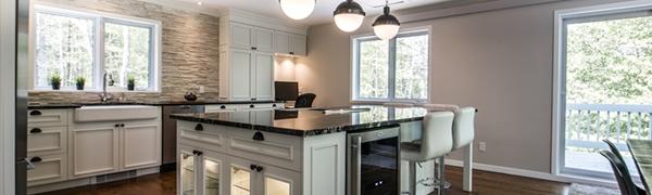 Nouvelle cuisine dans une résidence secondaire deluxe!